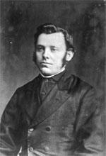 Portrait of Rev Johann Heinrich Christoph Dierks. Taken by William Henry Thomas Partington, 1854-1940. Ref: PAColl-5871-05. Alexander Turnbull Library.