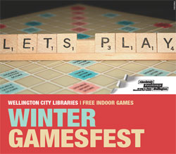 Come along to our Winter Gamesfest!