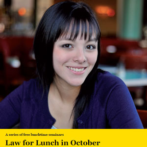 Law for Lunch logo
