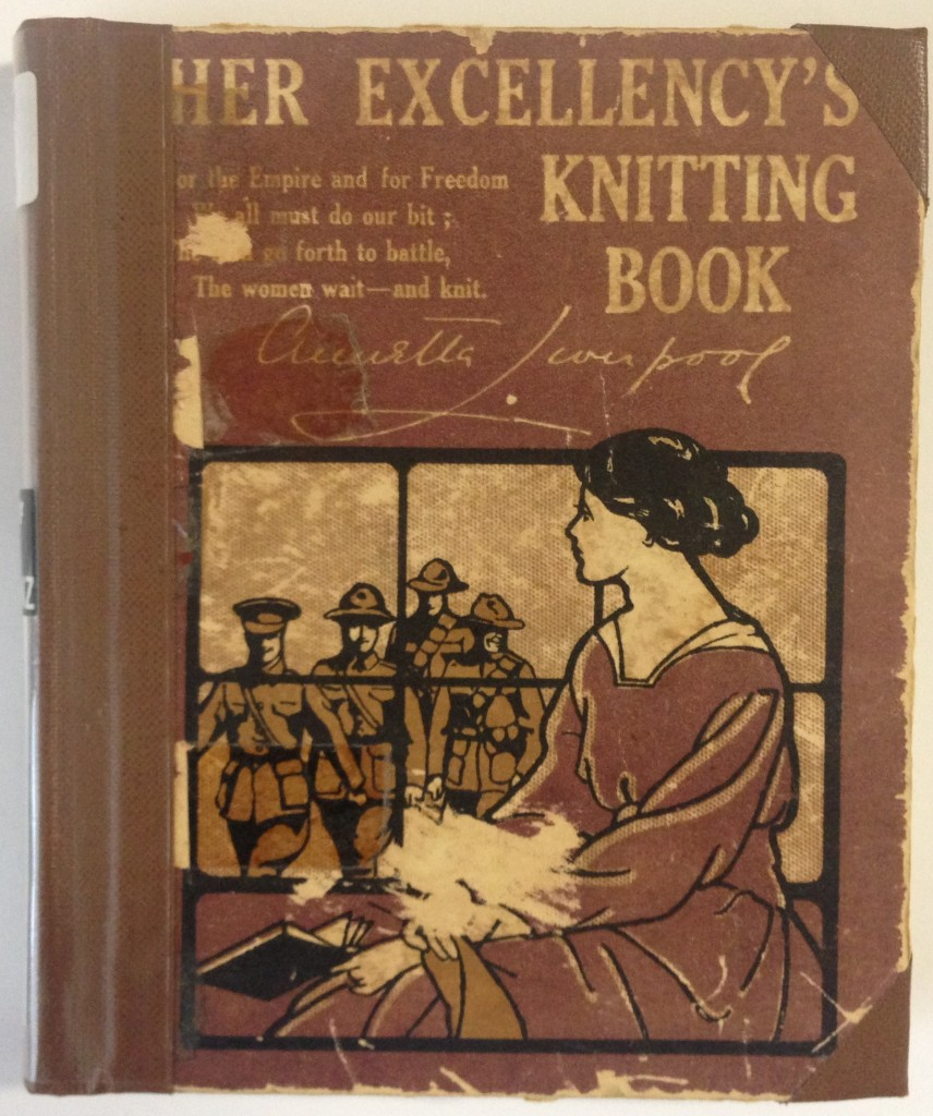 Her Excellency's Knitting Book cover