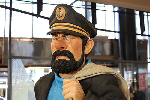 Captain Haddock - Chris Guise