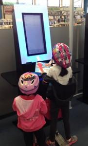 children at Miramar Library