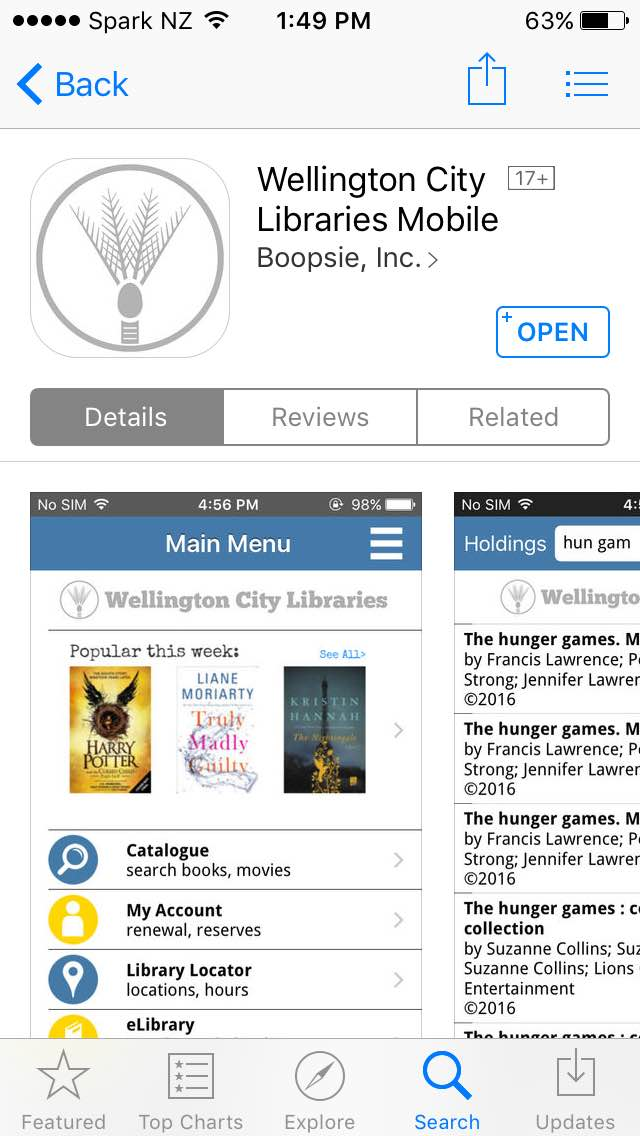 WCL Mini in the App Store