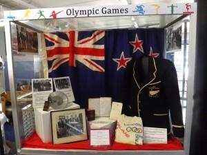 Olympics display