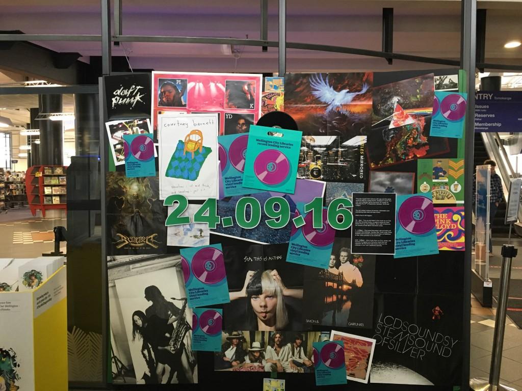 Vinyl display