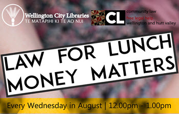 Earthquakes & Insurance – Law for Lunch is back this Wednesday