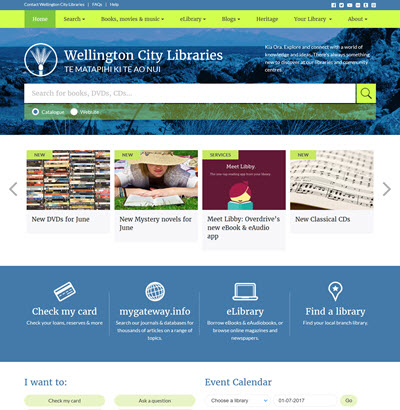 wcl.govt.nz has had a makeover