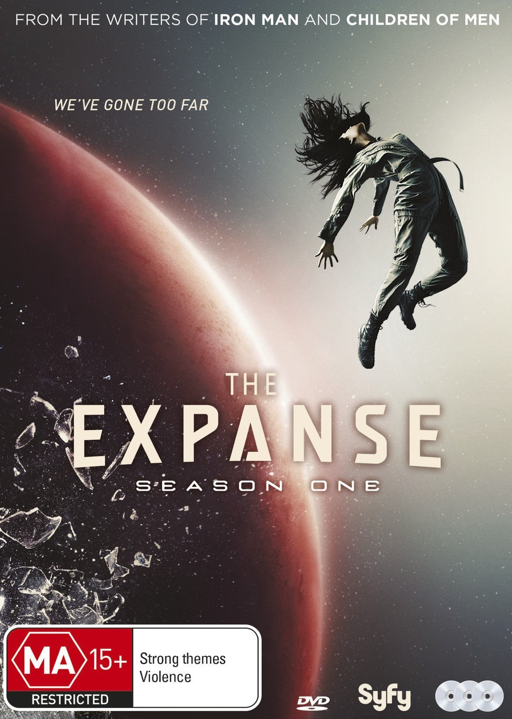 The expanse. Season one. It has vastly superior production standards, it  looks fabulous and is way better acted, but for many reasons 'The Expanse'  reminds ...