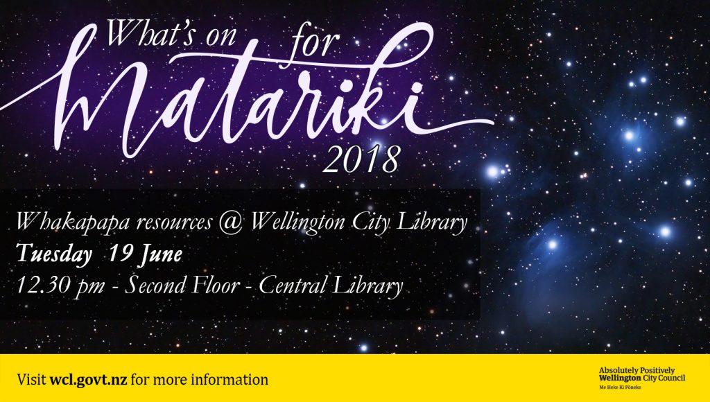 Matariki poster 2 - Whakapapa