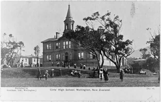 Wellington Girls' High School, pre-1905