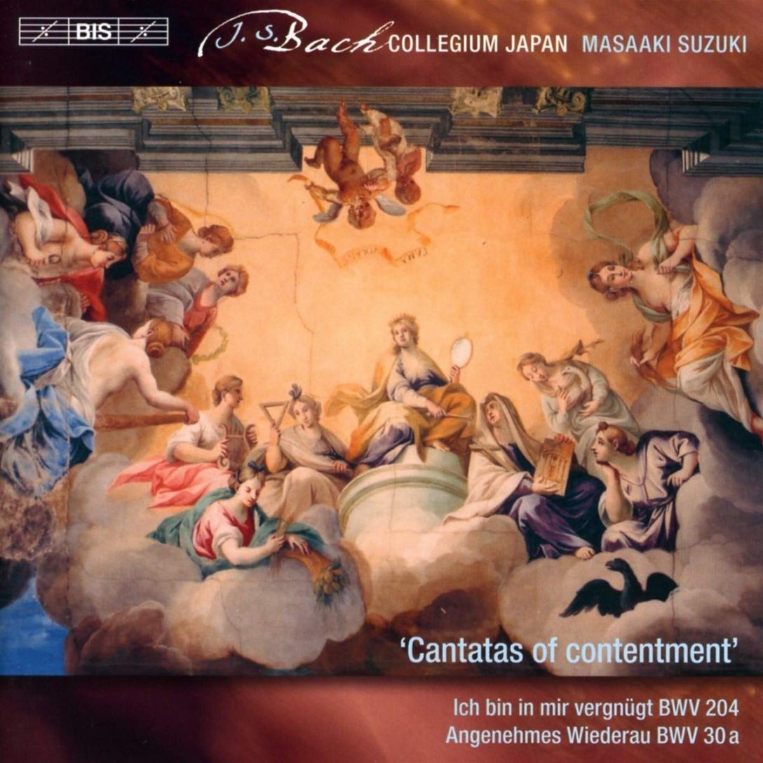 Secular Cantatas cover