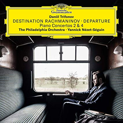 Destination Rachmaninov CD cover