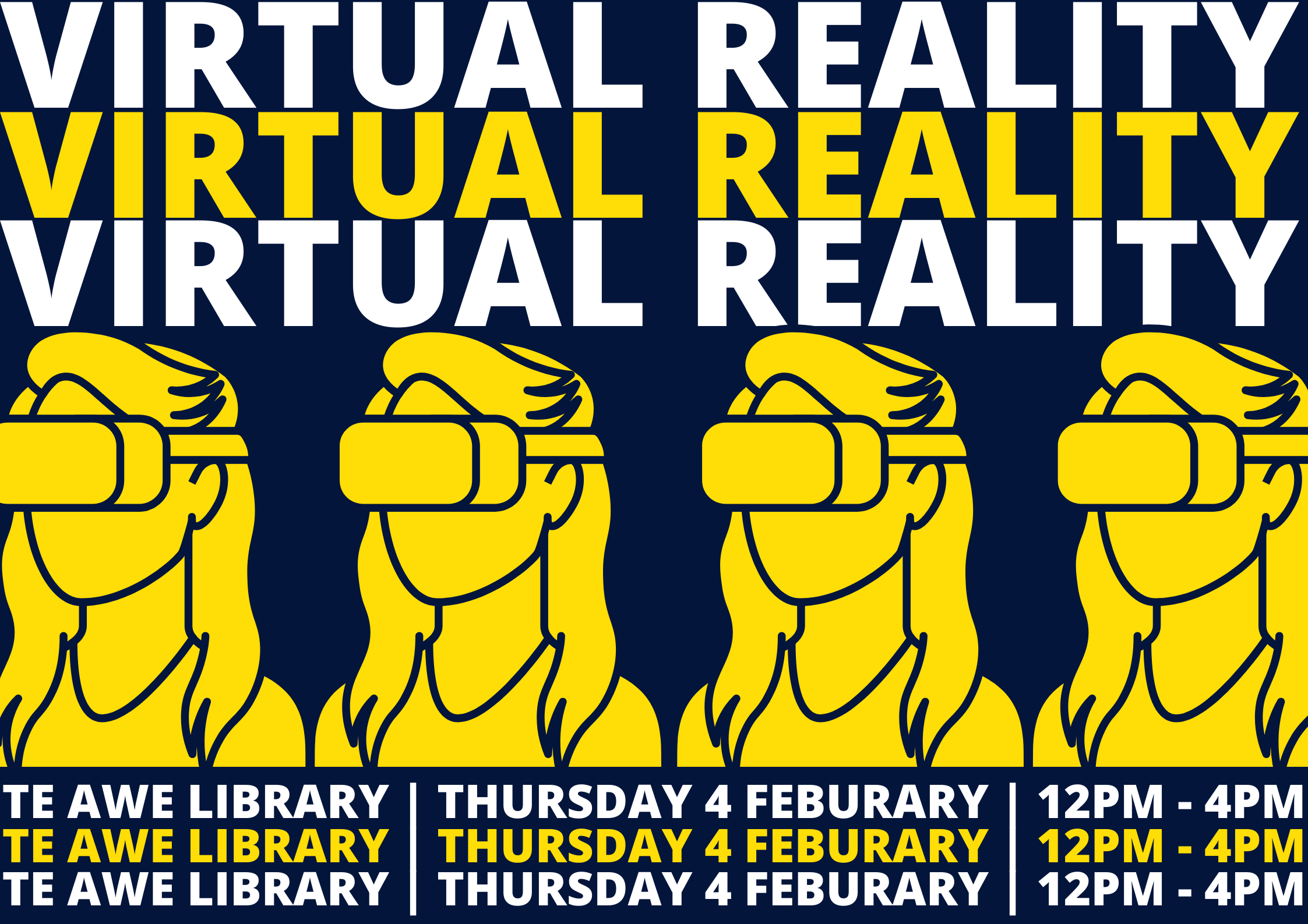 Facebook event for VR at Te Awe
