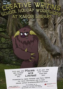 karori writing workshop October 11 small poster