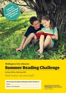 Summer Reading Challenge booklet