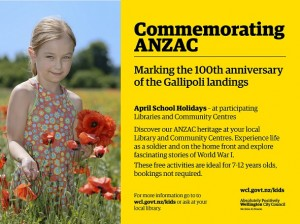 Library commemorating ANZAC small