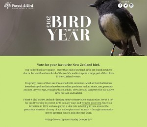 Bird of the Year