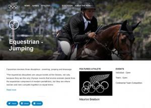 Olympics Equestrian