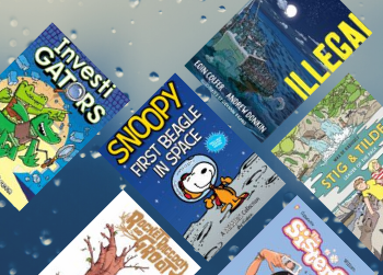 8 New Junior Comics to Read Just in Time for Winter!