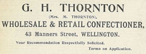 Advertisement in Stone's Directory, 1904