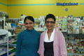 Susie (born in NZ) and Sheela (Indian) love the people and different cultures in Newtown an think it is fantastic! Both of Mall Books and Lotto.