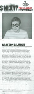 Grayson Gilmour Rip It Up article