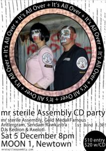 Mr Sterile Assemly Gig poster
