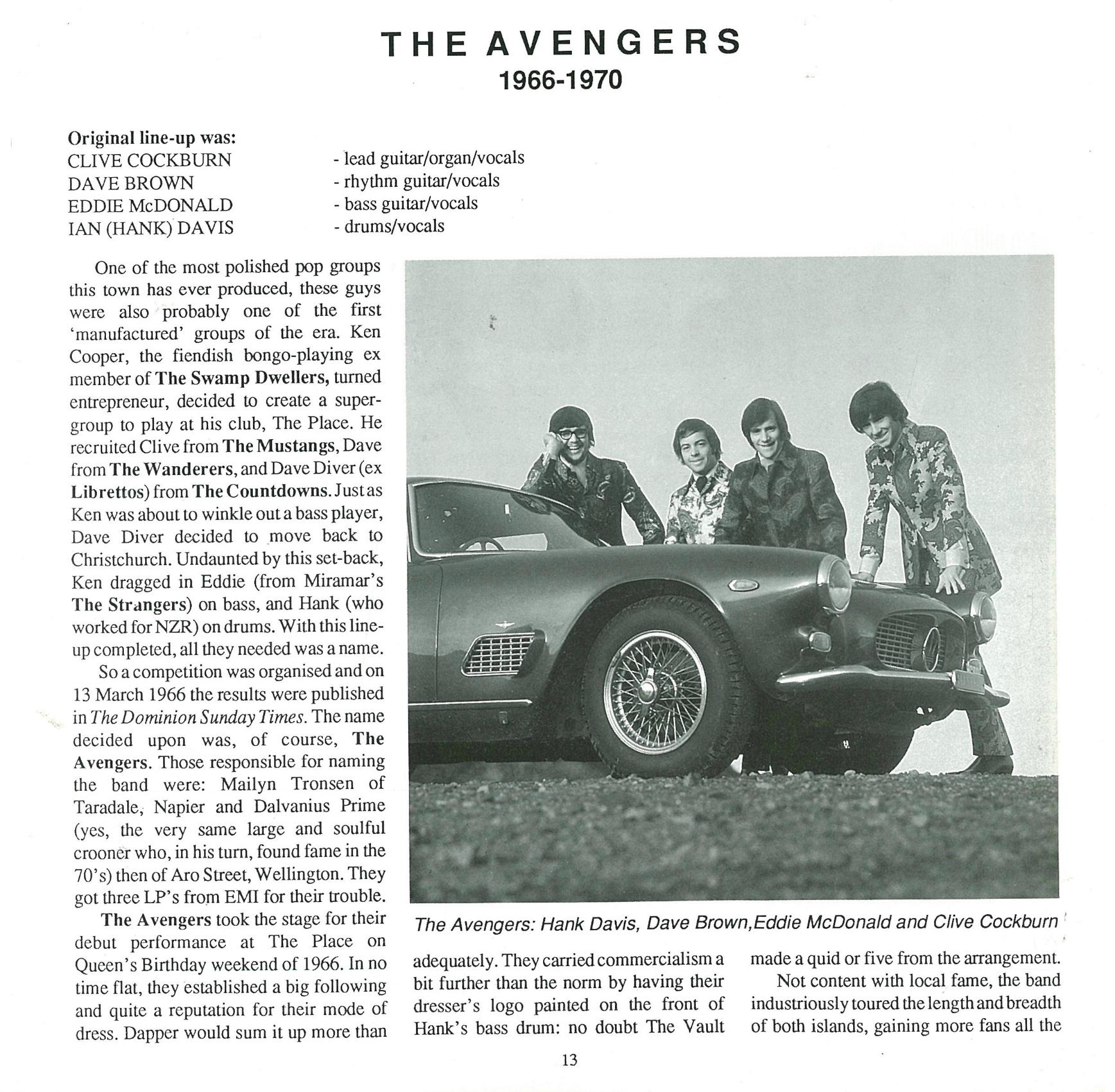 Wellington Music » Blog Archive » Wellington's 60's scene