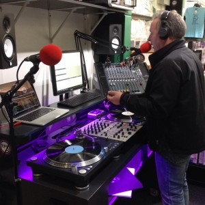 Peter May hosts the first RPR broadcast